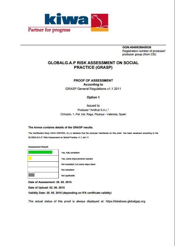 Certificado Kiwa 3